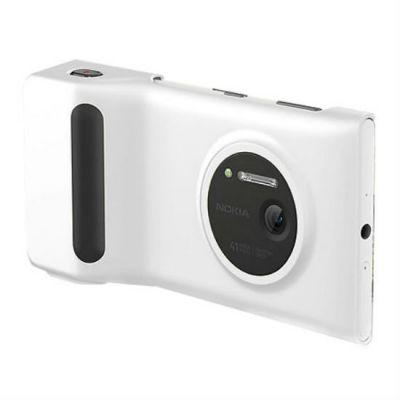 Nokia фоточехол с дополнительным аккумулятором для Nokia Lumia 1020 (белый) PD-95G