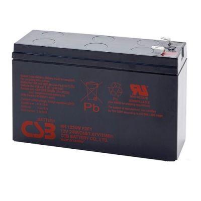 Аккумулятор CSB HR 1224W F2F1 (12V 7Ah) CSB-HR12/7