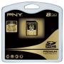 Карта памяти PNY SDHC Class 4 Premium 8GB SD8G4PRE-R