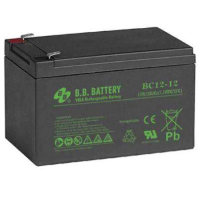Аккумулятор B.B. Battery BC 12-12 (12V; 12Ah) BB-BC12/12