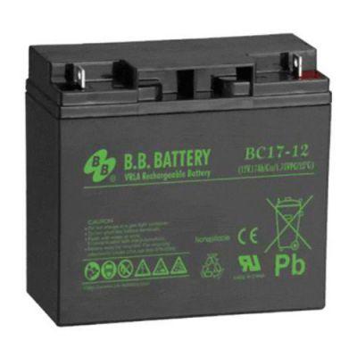 Аккумулятор B.B. Battery BC 17-12 (12V; 17 Ah) BB-BC12/17