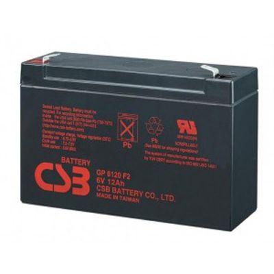 Аккумулятор CSB GP 6120 (6V 12Ah) CSB-GP6/12