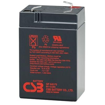 ����������� CSB GP 645 (6V 4.5Ah) CSB-GP6/4.5