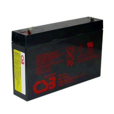 Аккумулятор CSB GP 672 (6V 7.2Ah) CSB-GP6/7.2
