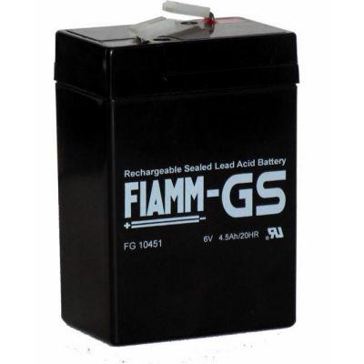 Аккумулятор Fiamm FG 10451 (6V 4.5Ah) FI-FG6/4.5