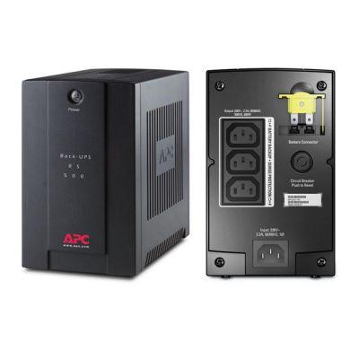 ИБП APC Back-UPS RS, 500VA/300W AVR IEC BX500CI