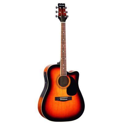 Электроакустическая гитара Martinez FAW - 702 CEQ / VS