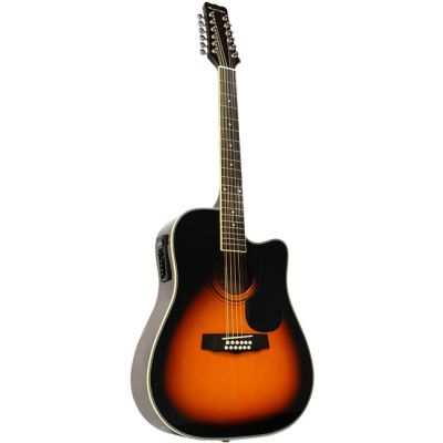 Электроакустическая гитара Martinez 12-ти струнная FAW-802-12CEQ TRS