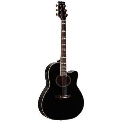 Электроакустическая гитара Martinez FAW-817EQ BK