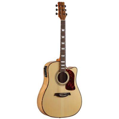 Электроакустическая гитара Martinez W-124BC N