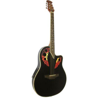 Электроакустическая гитара Martinez W - 164 P / BK