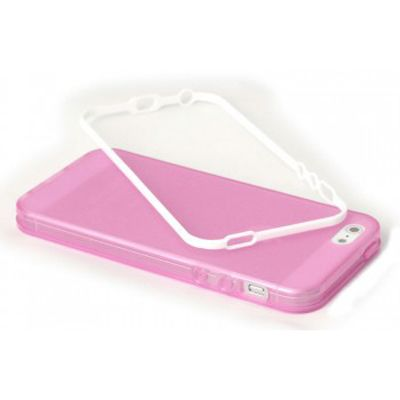 Чехол Miracase для iPhone 5/5S MP-204 розовый