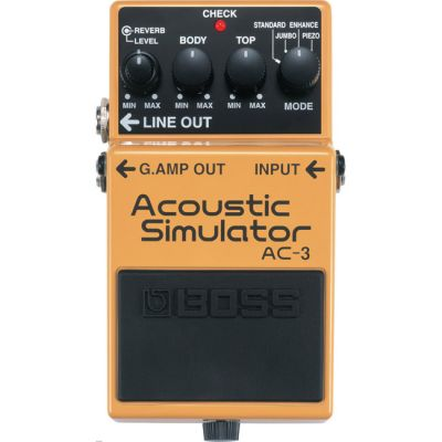 ������ �������� BOSS AC-3 ACOUSTIC SIMULATOR