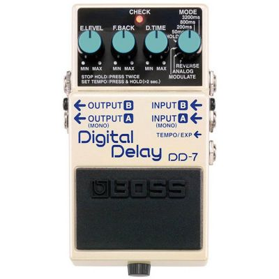 ������ �������� BOSS DD-7 DIGITAL DELAY