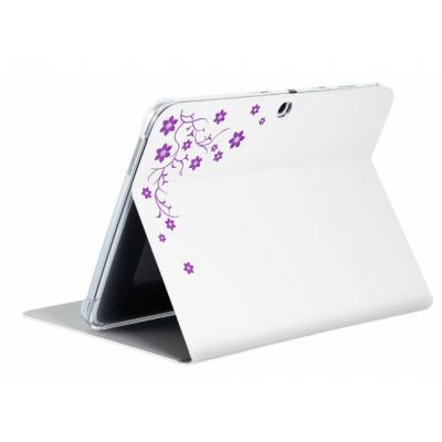 "Чехол Samsung Galaxy Tab III 8"" (La Fleur белый) F-BUVP006RWH"