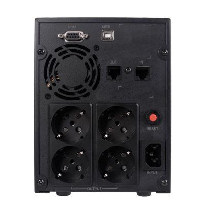 ИБП CyberPower Back-UPS Value SOHO, Line-Interactive, 2200VA / 1320W VALUE2200ELCD