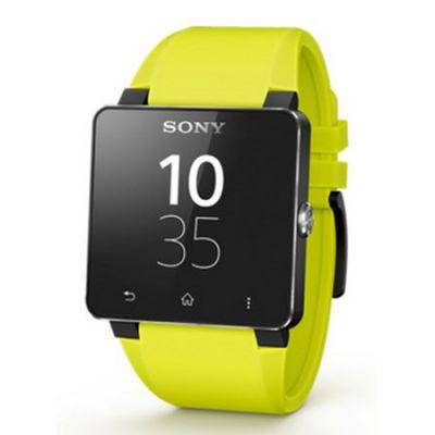 Sony Силиконовый ремешок для SmartWatch 2 SE20 Yellow