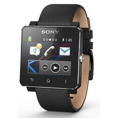 Sony Кожаный ремешок для SmartWatch 2 SE20 Black