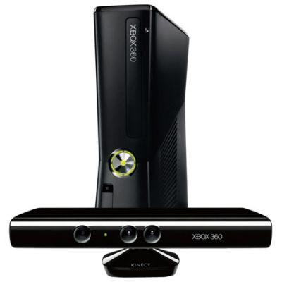 ������� ��������� Microsoft Xbox 360 4Gb Black+ Kinect