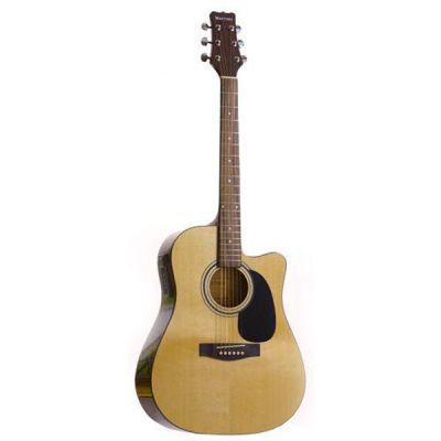 Электроакустическая гитара Martinez FAW-801СEQ