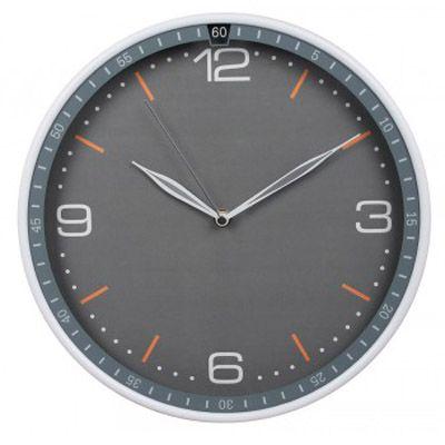 Настенные часы Бюрократ аналоговые WallC-R06P/gray