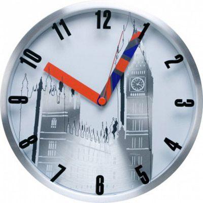 Настенные часы Бюрократ аналоговые WallC-R10M/Lond