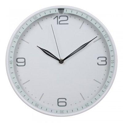 Настенные часы Бюрократ аналоговые WallC-R06P/white