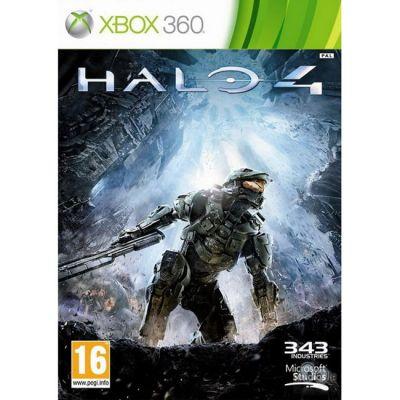 Игровая приставка Microsoft Microsoft Xbox 360 4GB Black + Halo 4 + 2 аркады The Maw и Aqua в комплекте L9V-00012 + HND-00063