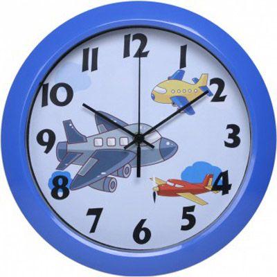 Настенные часы Бюрократ аналоговые WallC-R20P/blue