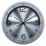 Настенные часы Бюрократ аналоговые WallC-R05P/silver