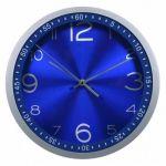 Настенные часы Бюрократ аналоговые WallC-R05P/blue