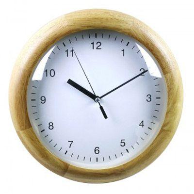 Настенные часы Бюрократ аналоговые WallC-R21W/beech
