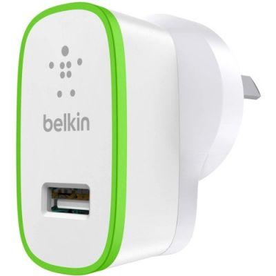 Адаптер питания Belkin Usb 2,1A White для зарядки мобильных устройств F8J052cwWHT