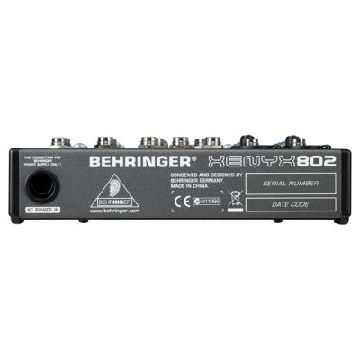 ��������� ����� Behringer 802