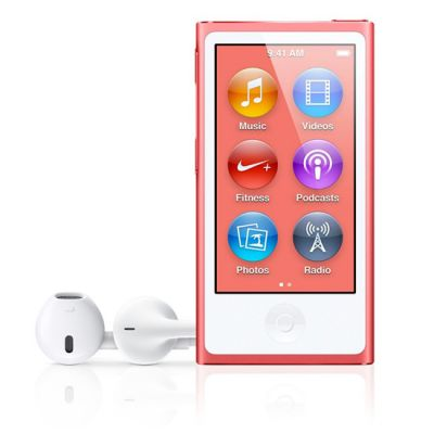 Аудиоплеер Apple iPod nano 7 16GB Pink MD475RU/A (MD475QB/ A)