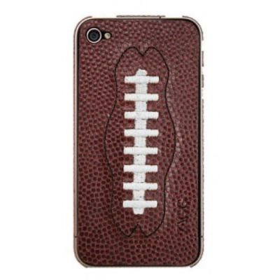 Zagg наклейка для iPhone 4/4S sportLEATHER football Brown LSBRNFOO73