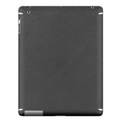 Zagg �������� LEATHERskin ��� iPad2/New Black LSBLKZAGG101