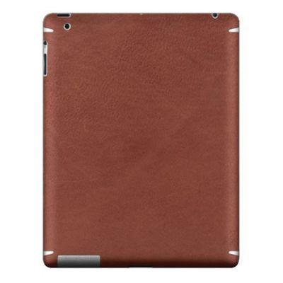 Zagg �������� LEATHERskin ��� iPad2/New Brown LSBRNZAGG101
