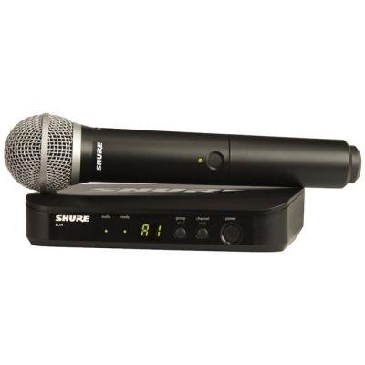Микрофон Shure радиосистема BLX24E/PG58
