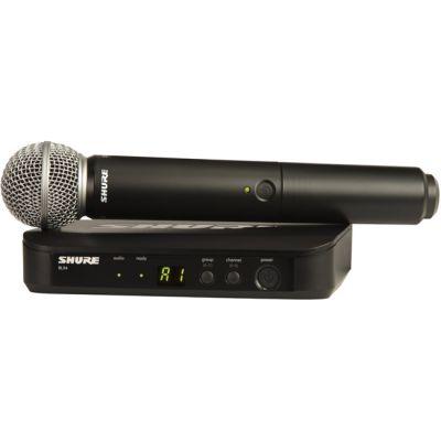 Микрофон Shure радиосистема BLX24E/SM58