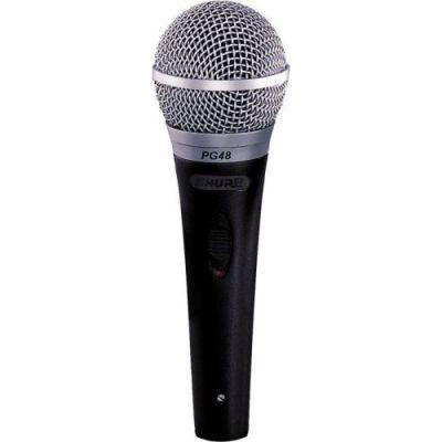 Микрофон Shure вокальный PG48XLR