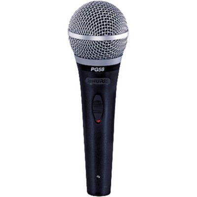 Микрофон Shure вокальный PG58 XLR