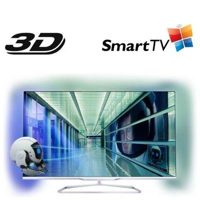 Телевизор Philips 55PFL7108S/60 White