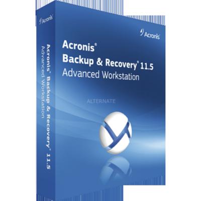 Программное обеспечение Acronis Backup & Recovery 11.5 Advanced Workstation (Box)