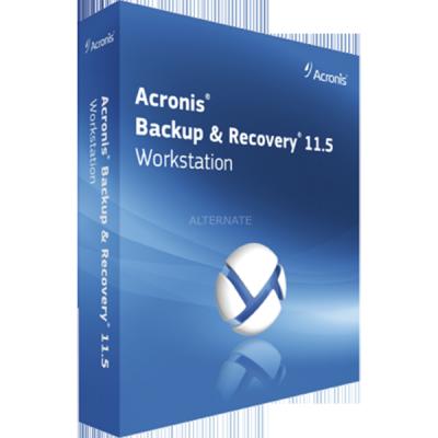 ����������� ����������� Acronis Backup & Recovery 11.5 Workstation (Box)