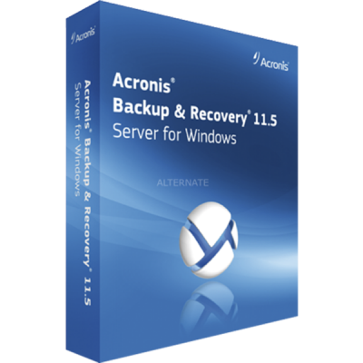 ����������� ����������� Acronis Backup & Recovery 11.5 Server for Windows (Box)