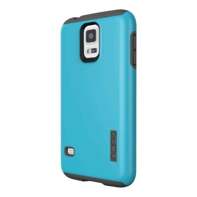 Incipio клип-кейс DualPro for Samsung Galaxy S5 - Cyan/Gray SA-526-CYN