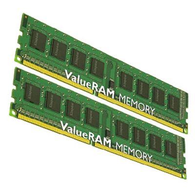 Оперативная память Kingston DIMM 16GB 1600MHz DDR3 Non-ECC CL11 DIMM (Kit of 2) KVR16N11K2/16