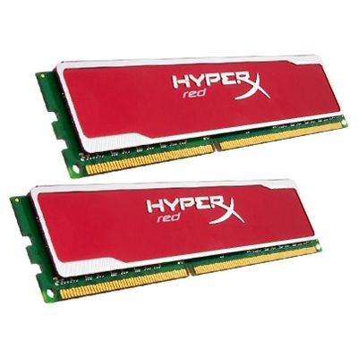 Оперативная память Kingston DIMM 8GB 1333MHz DDR3 Non-ECC CL9 (Kit of 2) HyperX red Series KHX13C9B1RK2/8