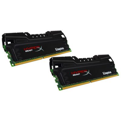 Kingston Модуль памяти DIMM 8GB 2400MHz DDR3 CL11 (Kit of 2) XMP Beast Series KHX24C11T3K2/8X